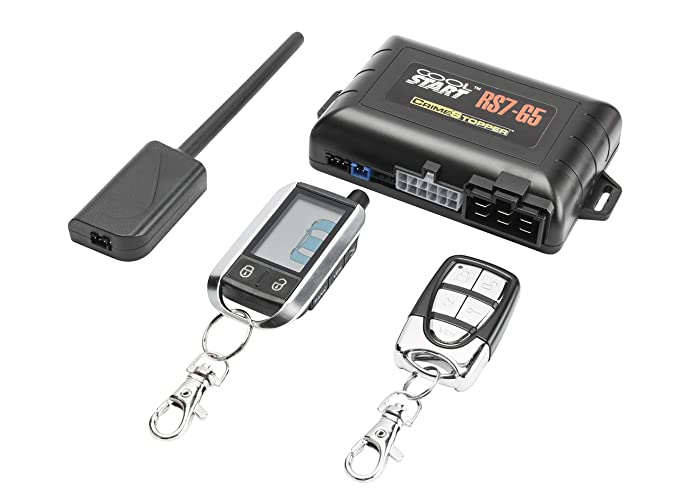 amazon com crimestopper rs7 g5 cool start 2 way remote start systemRemote Start Keyless Entry Alarms Remote Parts Accessories Amp #4