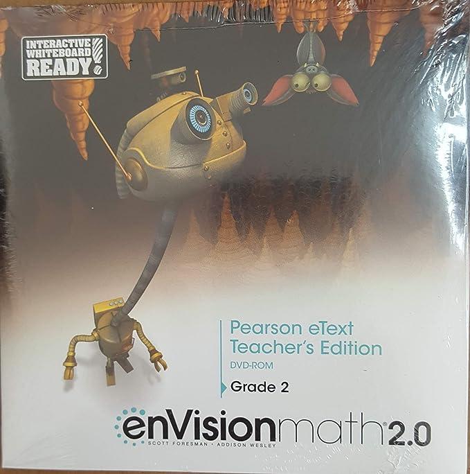 Amazon com: Envision Math 2 0 Pearson eText Teacher's