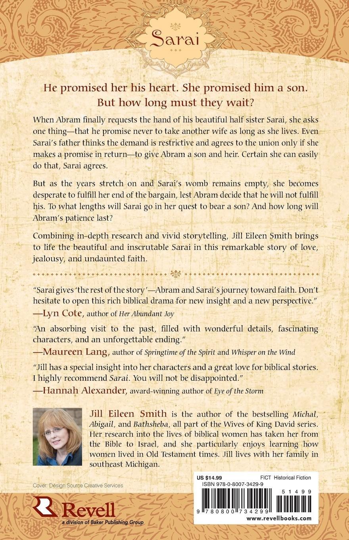 Sarai: A Novel (Wives of the Patriarchs) (Volume 1): Jill Eileen Smith:  9780800734299: Amazon.com: Books
