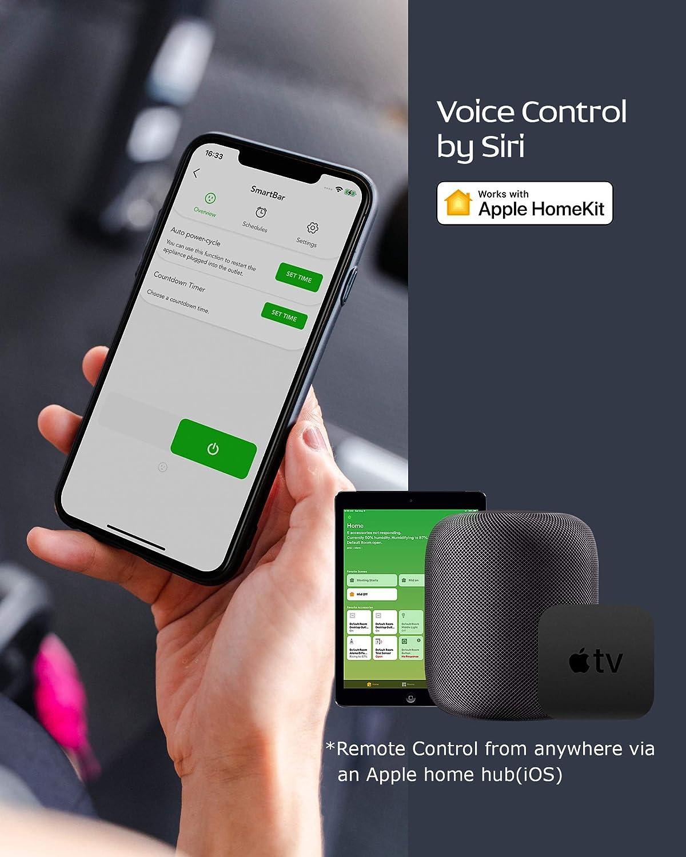2PACK-L3EU Mehrfarbig und Wei/ß Dimmbar Kompatible mit Apple HomeKit Alexa Google Assistant Hub unben/ötigt 2,4 GHz Smart Glow iOS 13+ 60 W /Äquiv. VOCOlinc Smart Wi-Fi LED-Gl/ühbirne A67 9,5 W