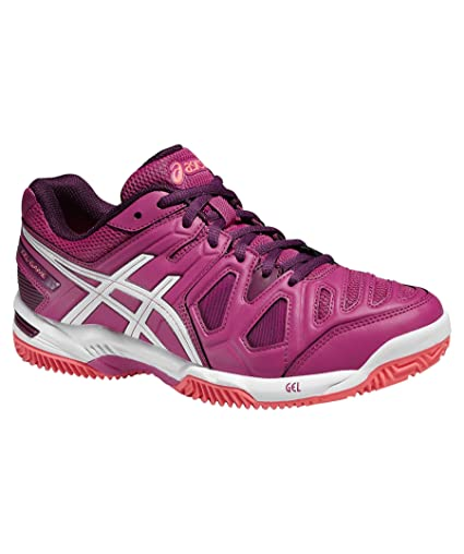 ASICS GEL GAME 5 CLAY CIRUELA E563Y 2101: Amazon.es ...