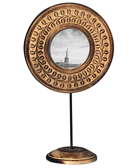 souvnear photo frame shabby chic round wooden picture frame with