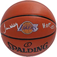 "$134 » James Worthy Los Angeles Lakers Autographed Spalding Throwback 1967-1999 Logo Basketball with""HOF 03"" Inscription - Fanatics Authentic…"