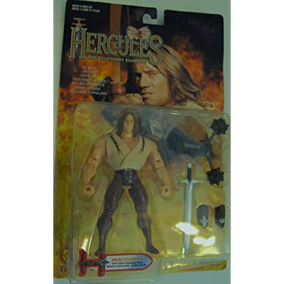 HERCULES THE LEGENDARY JOURNEYS HERCULES 1 ACTION FIGURE by AFLOT-TOY-HRCLSI-035112410010-N: Toys & Games