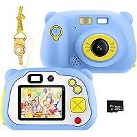 Cámara para niños Pancellent,videocámara Digital HD 1080P con Tarjeta TF de 32G, cámara de Juguete Recargable con Flash…