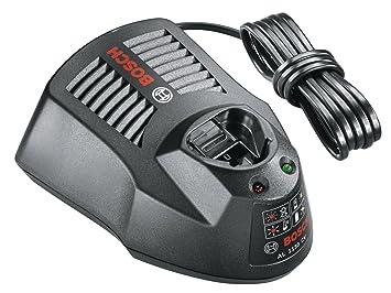 Bosch Home and Garden 1.600.Z00.03L Cargador para baterías, 12 V, Negro
