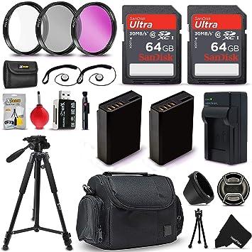 Amazon.com: Kit de accesorios profesionales para cámaras ...