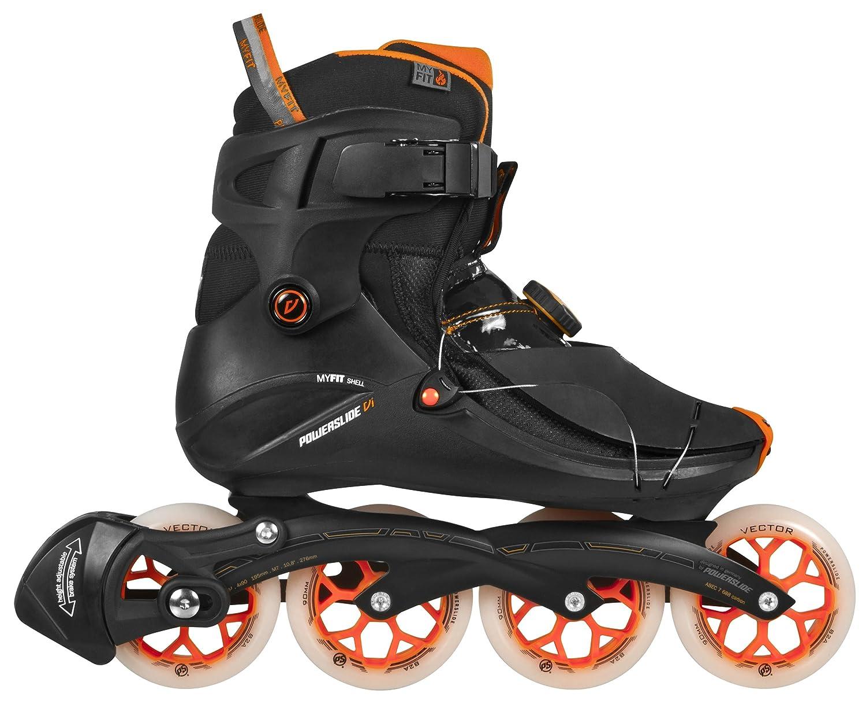 7e666624044 Powerslide VI Flyte Men's Inline Skates, Men, Inline-Skate VI Flyte, black:  Amazon.co.uk: Sports & Outdoors