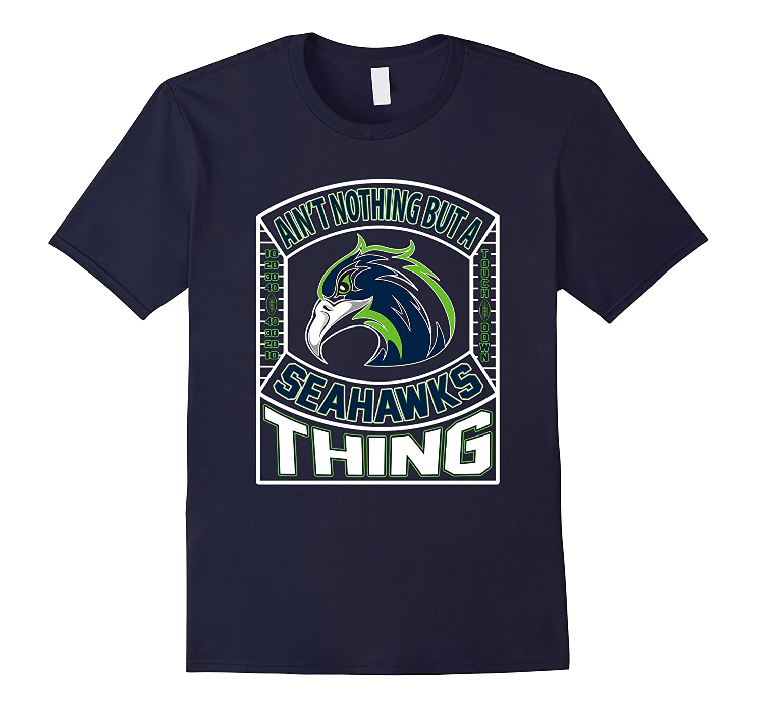 Apparel Men Women Sports Gear Football Tshirt Seahawks-Art