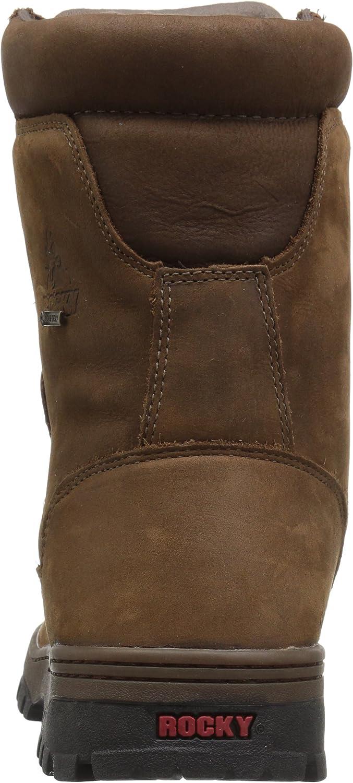 ROCKY Men's FQ0008729 Hiking Boot Light Brown