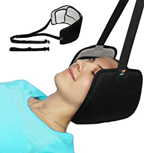 UVATIME Hammock for Neck Pain Relief, Portable Cervical Neck Traction Device for Neck Decompression, Shoulder Pain Relief, Physical Therapy, Eye Mask, Relaxation Gift