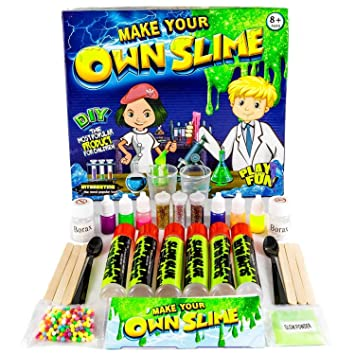 diy slime lab slime kit make your own slime with 6 colours 3