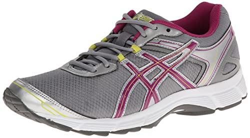ASICS Women's Gel Quick WK 2 Walking Shoe,Silver/Boysenberry/Citron,8 M US