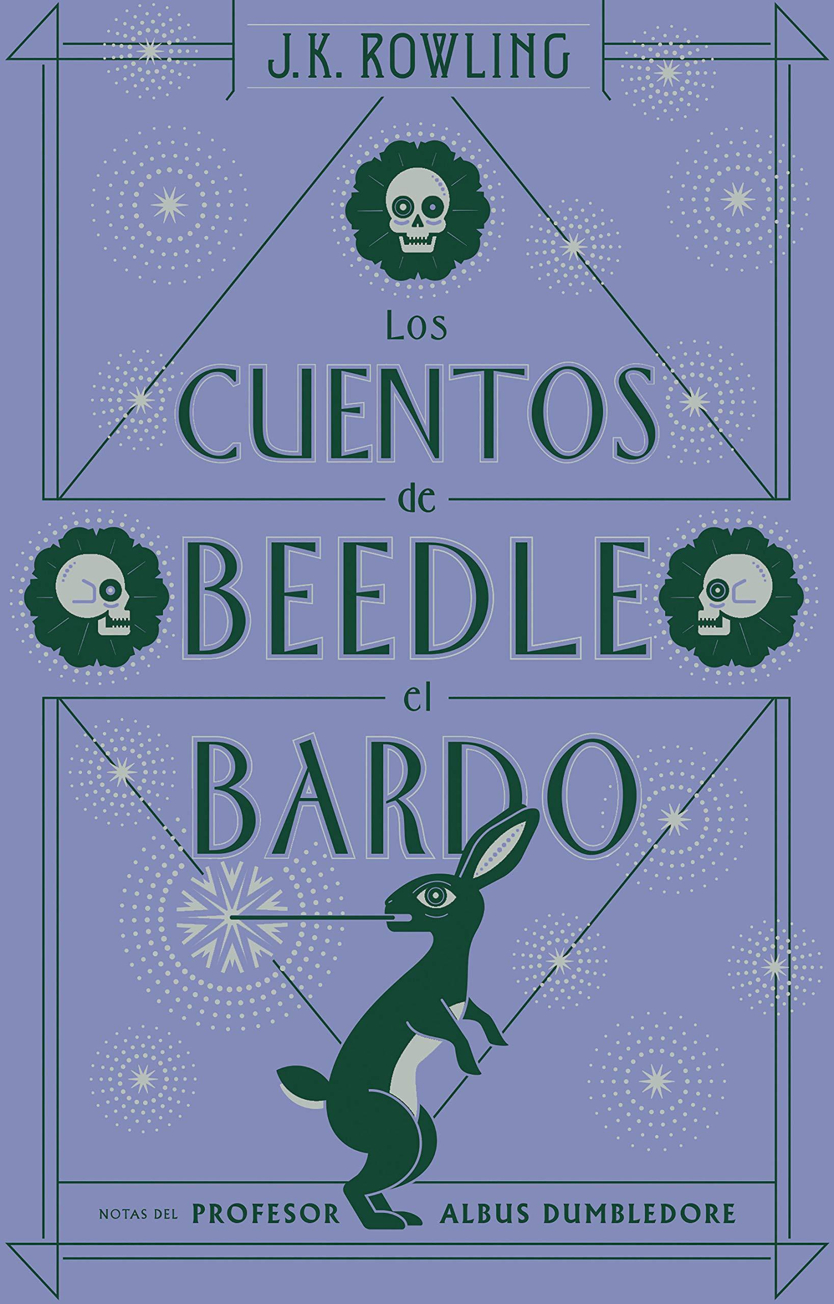 Los cuentos de Beedle el bardo Un libro de la biblioteca de Hogwarts: Amazon.es: Rowling, J.K.: Libros
