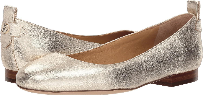 Lauren Ralph Lauren Women's Glenna Sneaker B076JLQL7G 9.5 B(M) US|Platino Metallic Kidskin