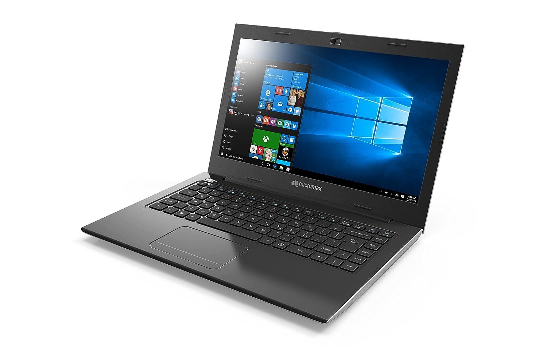 Micromax Neo LPQ61407W 14-inch Laptop (6th Gen Pentium Quad Core/4GB/500GB/Windows 10/Integrated Graphics), Silver
