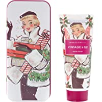 Vintage & Co Baubles & Belles 100ml Hand Cream in Decorative Tin, 100 ml