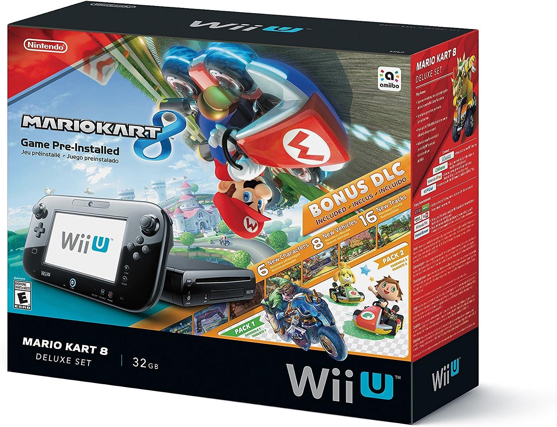 Nintendo Wii U Mario Kart 8 Deluxe Set bundle - Videoconsolas ...