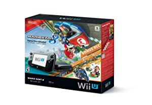 Nintendo Wii U 32GB Mario Kart 8 (Pre-Installed)