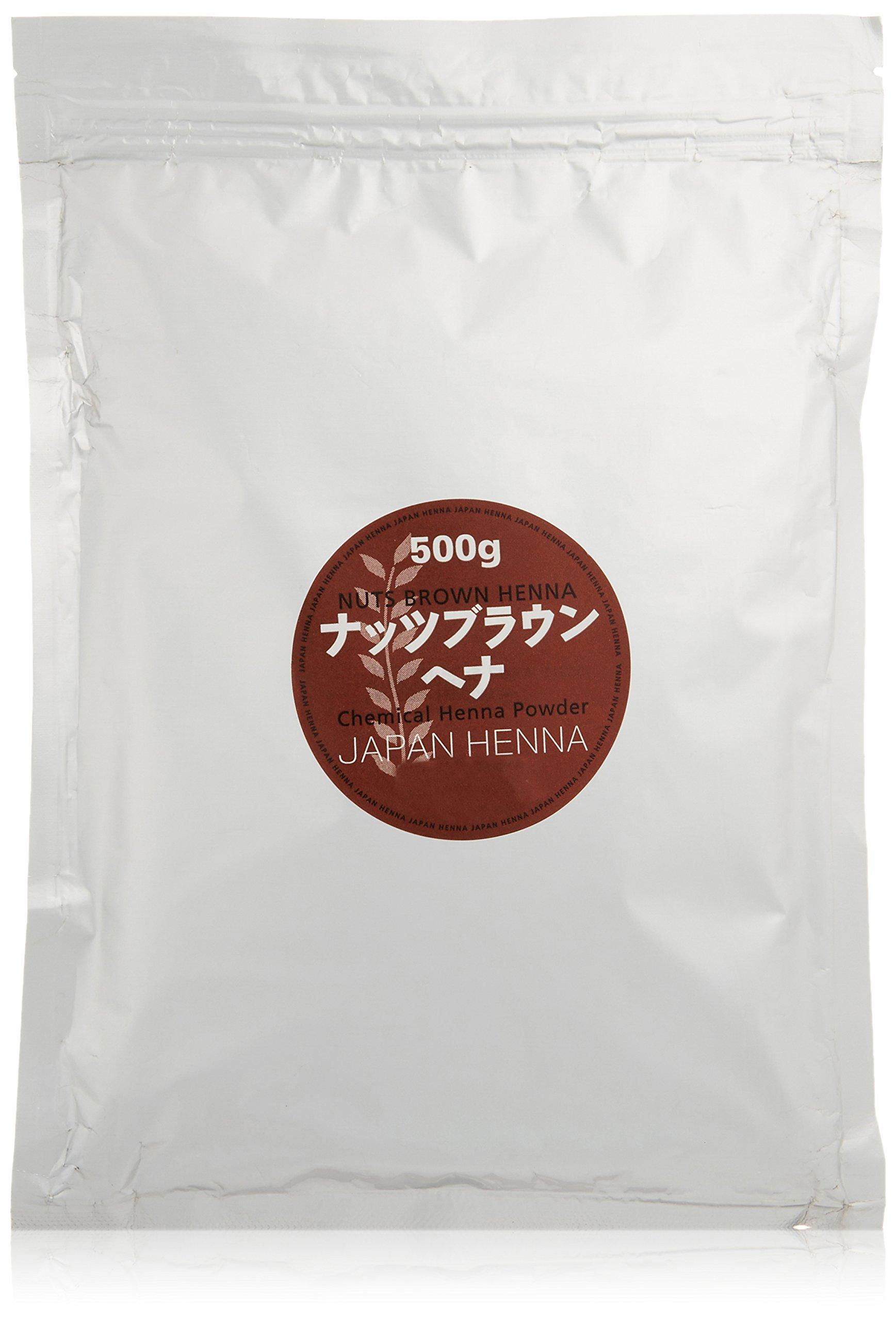 Japan henna Nuts Brown 500g