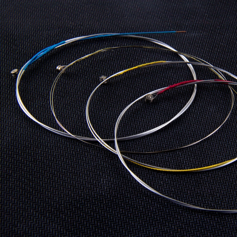 Mugig Full Set Violin Strings Size 4/4 & 3/4 Violin Strings, Package of 3, for Violin Strings, Set of 4