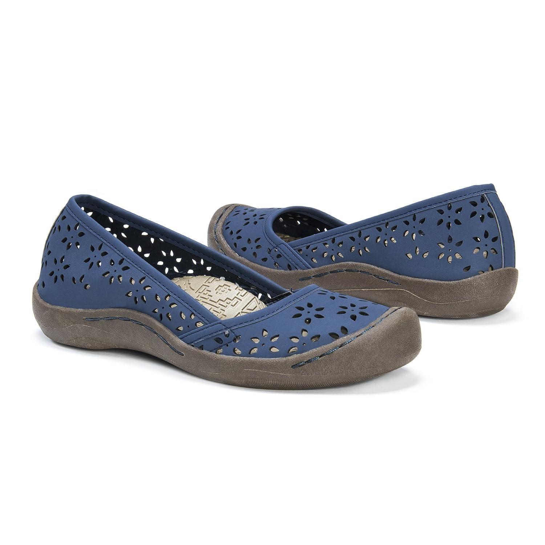 MUK LUKS Women's Sandy Shoes Sneaker B01MUDAGNP 7 B(M) US|Navy