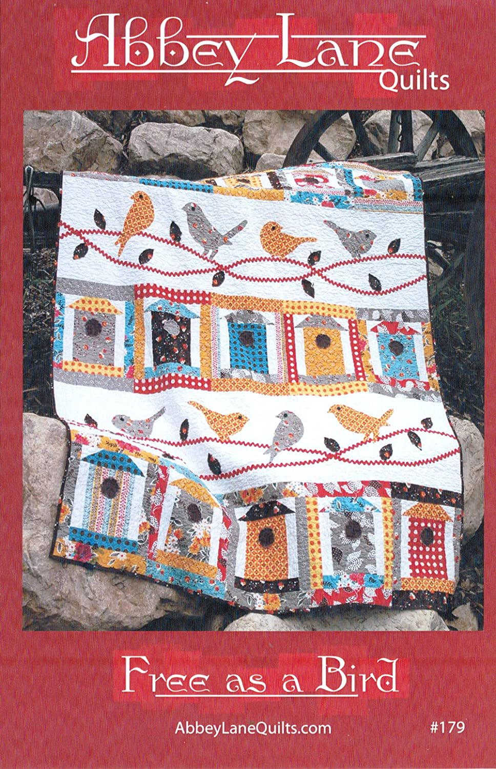 Amazon Free As A Bird Quilt Pattern 60in X 75in Approximate
