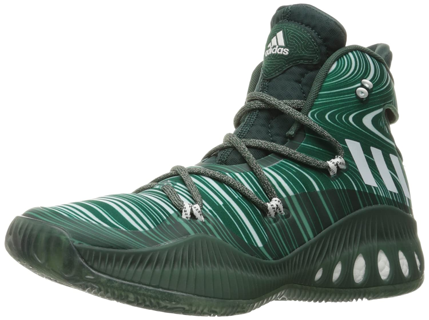 huge selection of d51a7 0b011 Adidas Men s Crazy Explosive Basketball Shoe  Amazon.co.uk  Shoes   Bags