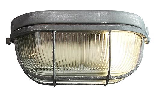 Plafoniere Soffitto Industrial : Vintage lampada da parete soffitto b cm im industrial decapato