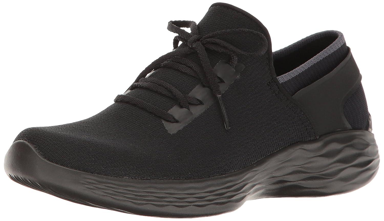 Skechers Women's You Inspire Slip-on Shoe B01MXW082J 6 B(M) US|Black