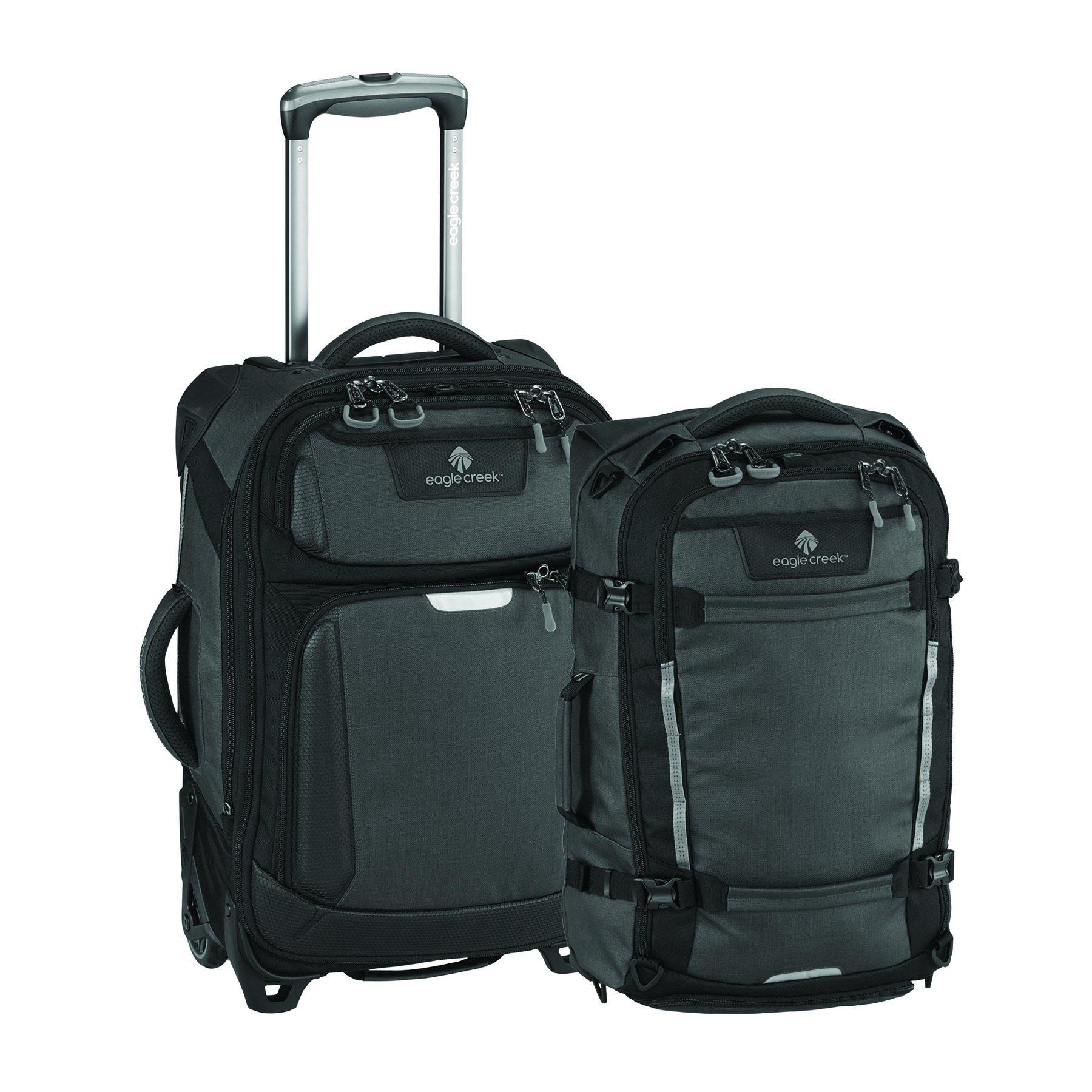 Eagle Creek Gear Hauler Luggage + Tarmac 22 Inch Luggage, Asphalt Black