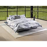 Calvin Klein Moonstone Duvet Cover Set, Twin, Pebble