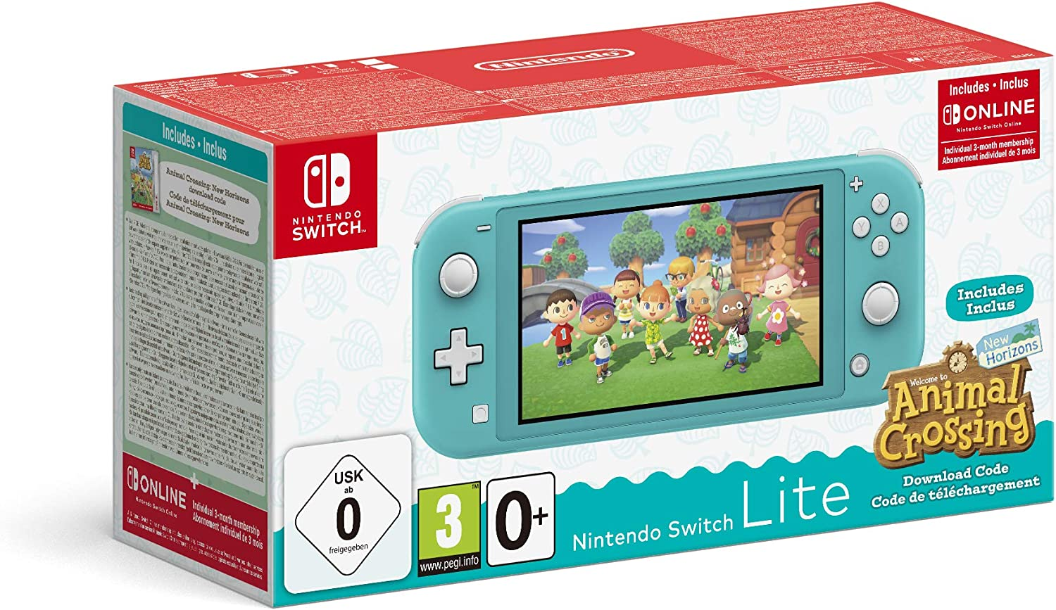 Nintendo Switch Lite + Animal Crossing en promotion