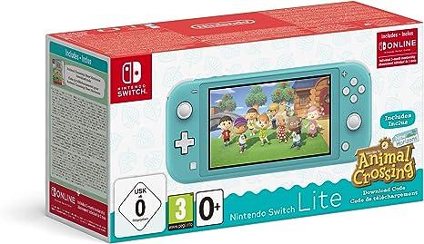 Nintendo Switch Lite con Animal Crossing New Horizons