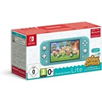 Nintendo Switch Lite Konsolu (Turkuaz) & Animal Crossing: New Horizons Edition Oyun İndirme Kodu