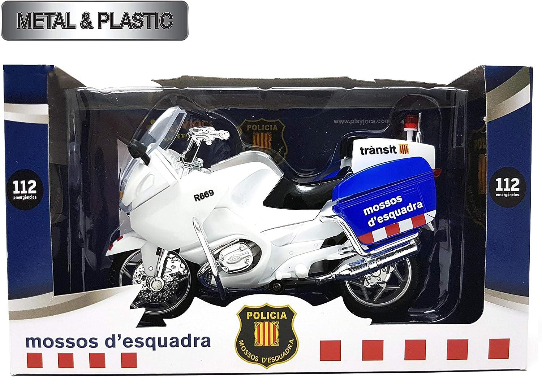 PLAYJOCS Moto Mossos de Esquadra GT-3986: Amazon.es: Juguetes y juegos