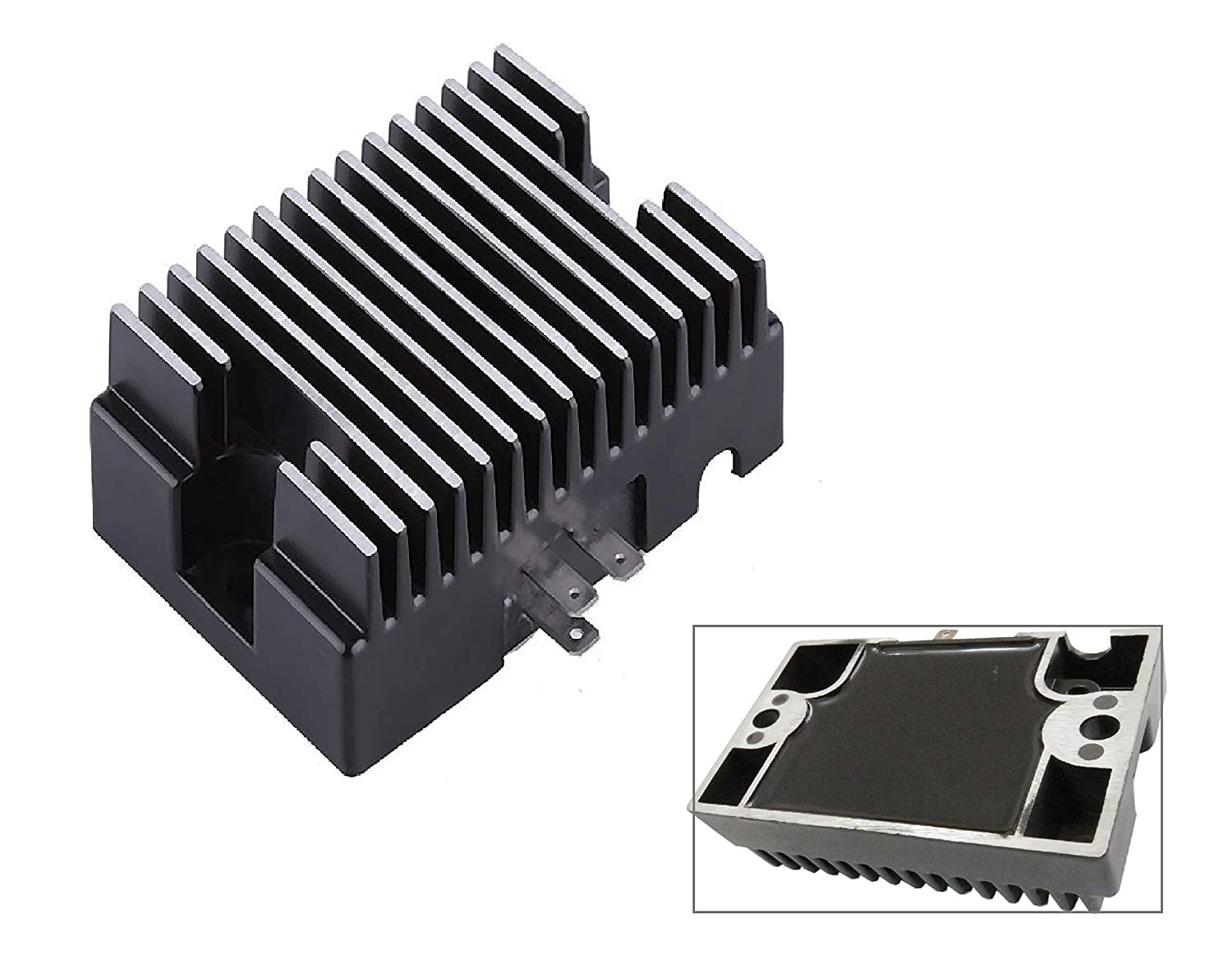 Voltage Regulator for Kohler K161 K181 K241 K301 K321 K341 K482 K532 K582 CH20 CH620 CH621 CH640 CH680 CH740 John Deere Lawn Tractor 110 112 140 8HP-24HP Engines With 15AMP Alternators