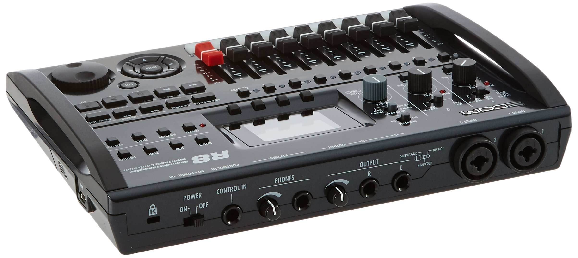 Zoom R8 Multitrack SD Recorder Controller and Interface (Certified Refurbished)