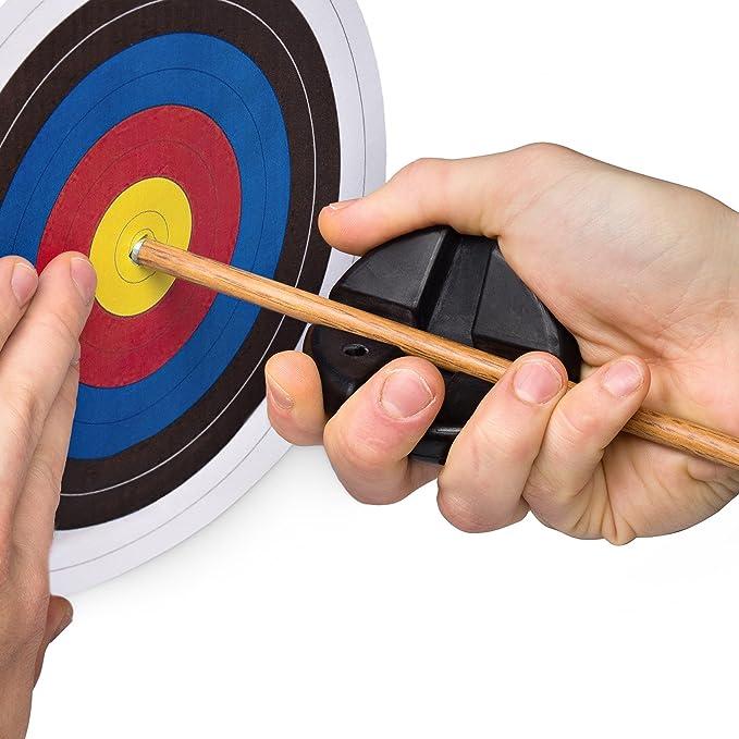 Archery Arrow Puller Pfeilzieher Gripper 3D Target Remover Schwarz