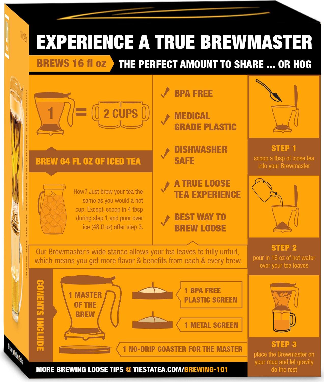 tiesta tea ultimate live loose kit sampler gift set brewmaster