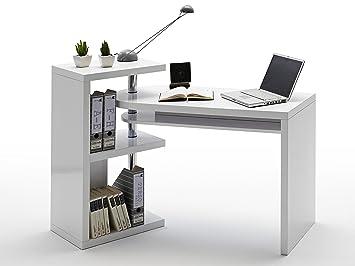 Combinaison mattis bureau blanc laqué brillant: amazon.fr: cuisine