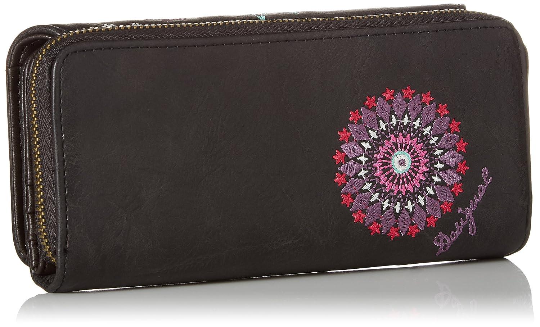 Mone_aria Maria Womens Wallet Turquoise (Turquesa Technic) 3x9.5x20.2 cm (B x H x T) Desigual p993Hx