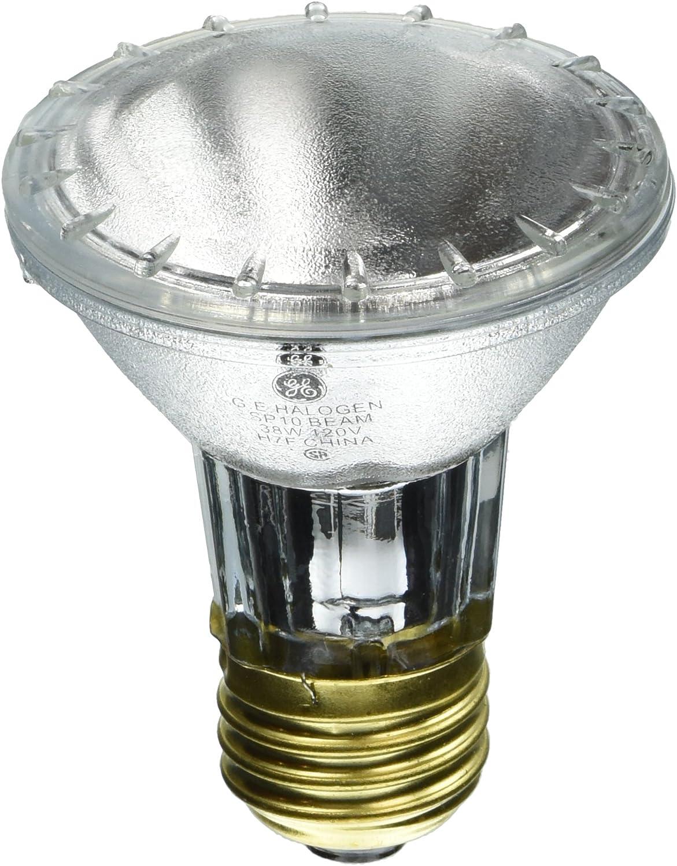 GE 14927 Edison PAR20 Halogen Bulb, 38-Watt