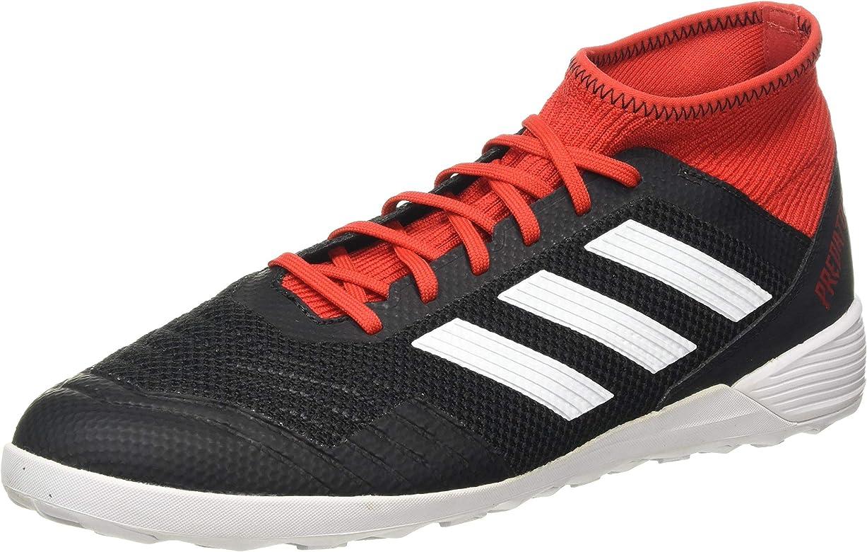 Adidas Predator Tango 18.3 In, Zapatillas de fútbol Sala para Hombre, Negro (Negbás/Ftwbla/Rojo 001), 42 2/3 EU: Amazon.es: Zapatos y complementos