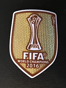 c1b893d7a FIFA World Club Cup Real Madrid Winners Japan 2016 Patch PARCHE Badge