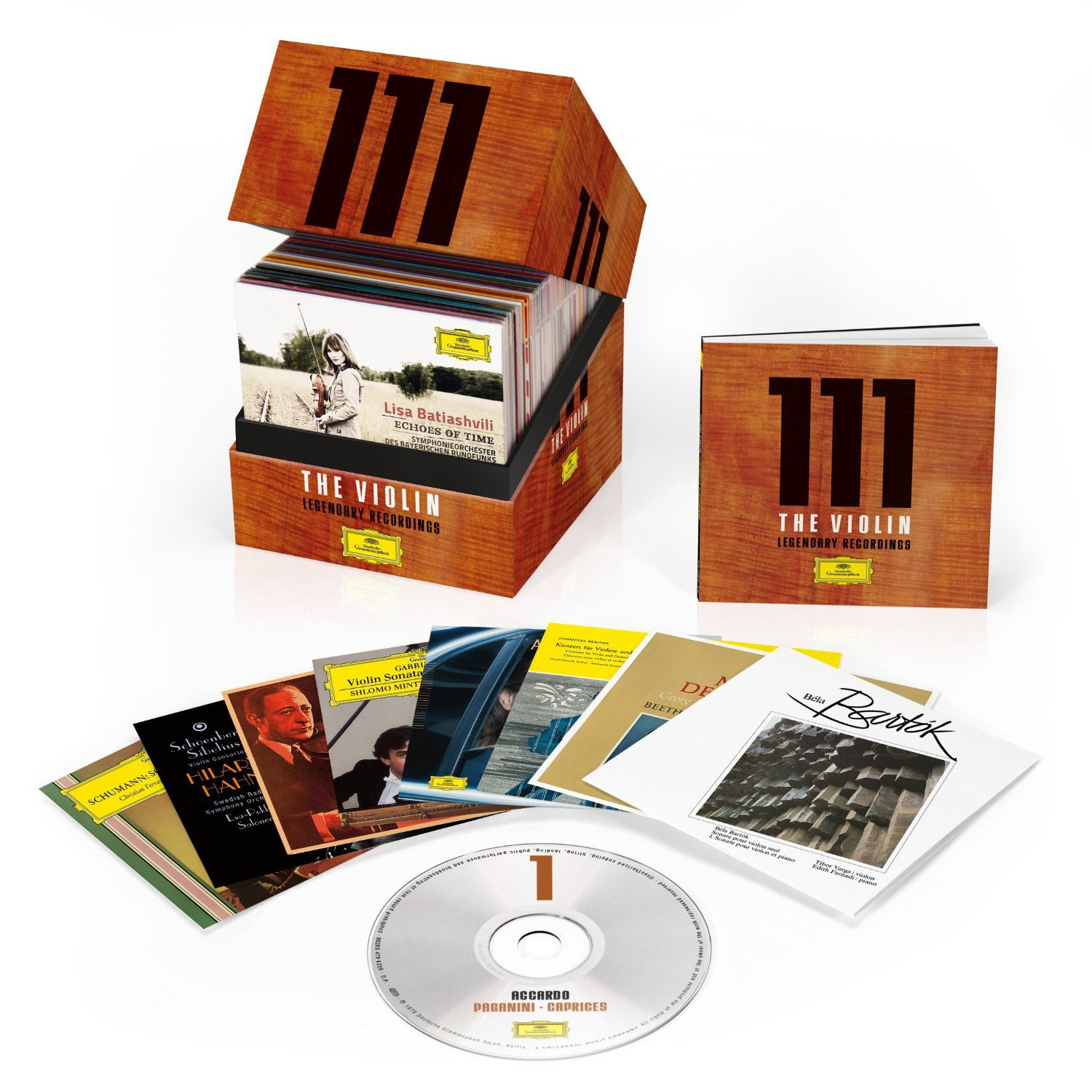 111 The Violin Legendary Recordings