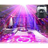 Disco Lights Sound Activated Strobe Light Party lights Bar night-club lights Wonsung RGB multi-colors LED strobe light Party lights mini magic ball DJ Lighting for Home birthday party,Karaoke,Bar,Pub,Stage,Wedding,Christmas,New Year Celebration