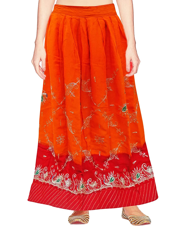 PEEGLI Falda Bordada De Lehenga De Tela Textil Rajasthani Lehenga ...