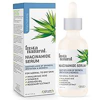 InstaNatural Niacinamide 5% Face Serum - Vitamin B3 Anti Aging Skin Moisturizer...