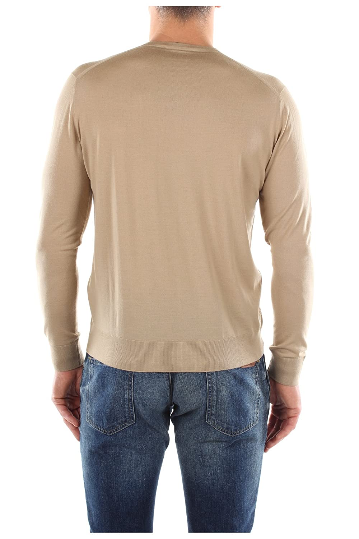 UMM985CORDA Prada Sweatshirts Men Wool Beige